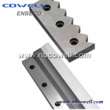ISO Standard Carbon Steel Plastic Crushing Blade/ Knife