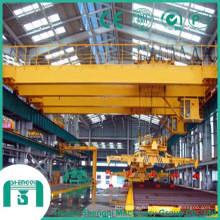 Capacité de 20 tonnes à 32 tonnes de pont roulant avec aimant