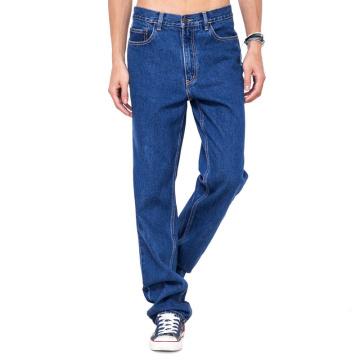 OEM Cheap Jeans Men Basic Denim Blue Jeans Pants