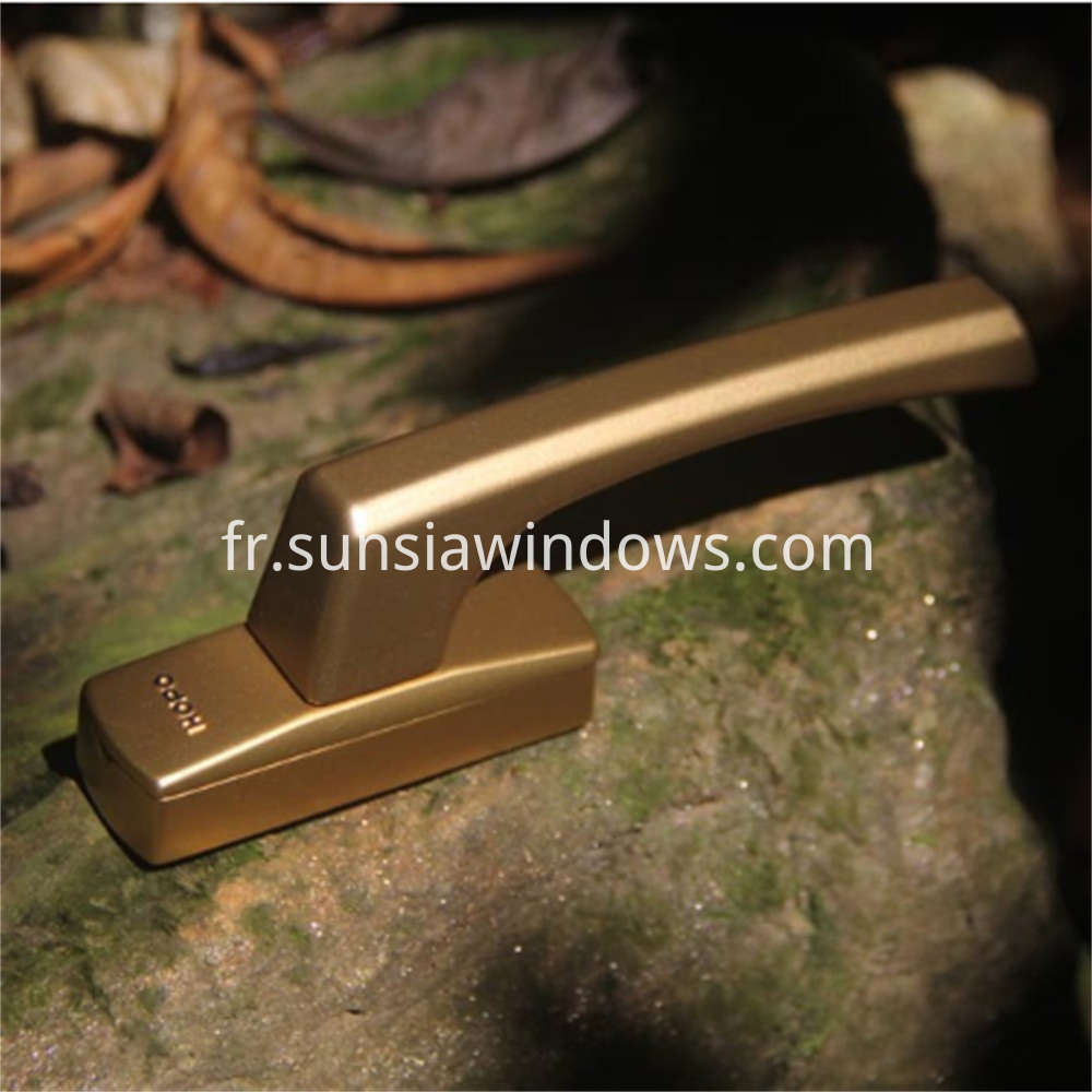Compact Sturdy and Durable Inward Open Window Fork Handle