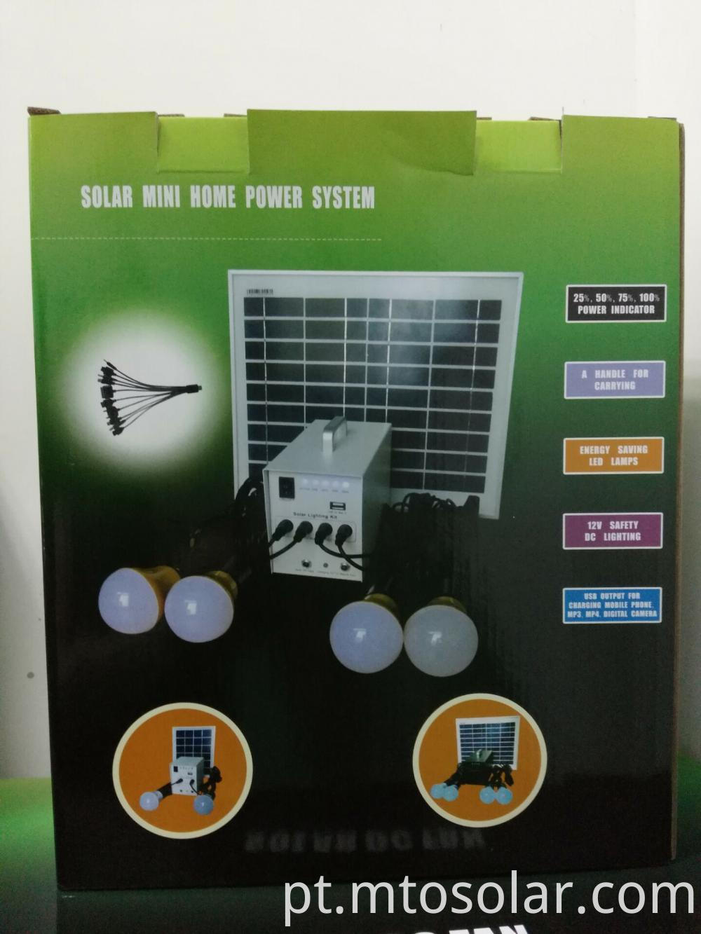 Power Solar camping System
