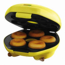 Hot sale donut maker, power and ready light indicators, cool touch handle