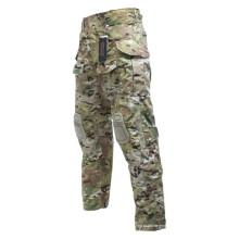 Pantalones al aire libre de entrenamiento de camuflaje para hombres personalizados de fábrica
