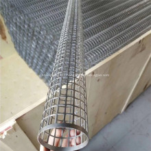 Tube spiralé en métal perforé en acier inoxydable soudé