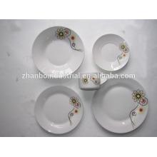 Beaux ensembles de vaisselle en porcelaine design