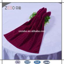 100% coton 21s Jacquard serviettes de sol Cheap Wholesale Hotel Bath Mat