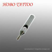 Acier inoxydable à court d'acier inoxydable pour tatouage Conseils pour soins de la peau