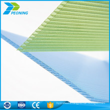 Uv coated polycarbonate honeycomb sun panels roofing sheets