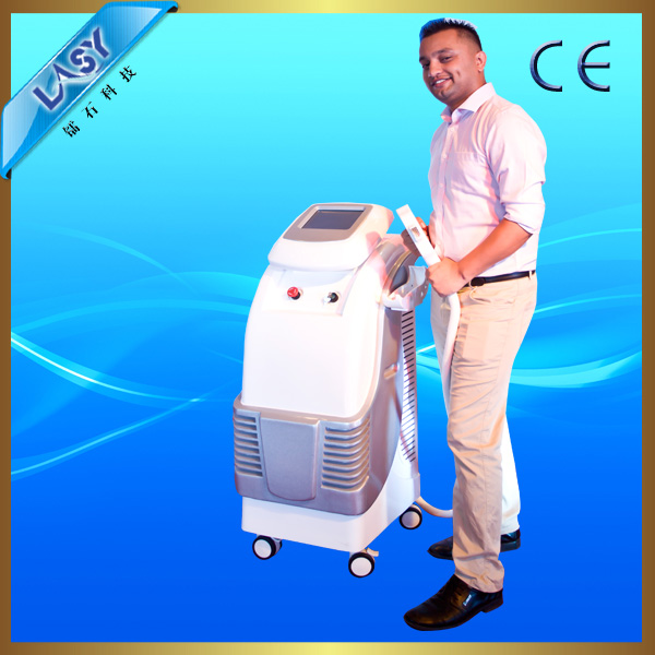 Shr opt beauty salon machine with real sapphire
