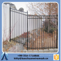 2015 new style Beautiful and stronger of sloping terrain Steel wall fence