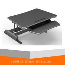 Mesa de computadora ajustable de altura de elevación de gas