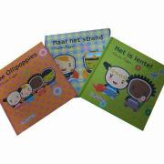 Hardcover book printing for children, customized sizes and designs are accepted