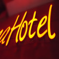 Hotel Name LED Illuminated Channel Letter Signs