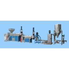 Flocos de HDPE, PP, PS, ABS plástico recicl a máquina extrusora e Pelotização