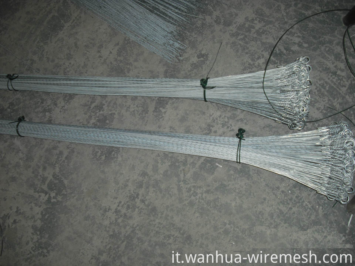 Galvanized loop bailing steel Wire (1)