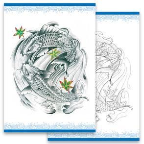 Tattoo Book Fancy carp Koi