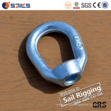 Carbon Steel Drop Forged Galvanized Oval Eye Nut G400