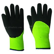 Trabajo de látex de espuma que guantes contra el frío (LY2038F)