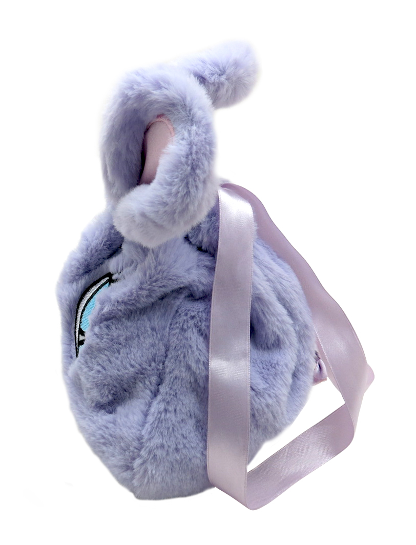Grey Rabbit Plush Backpack 1