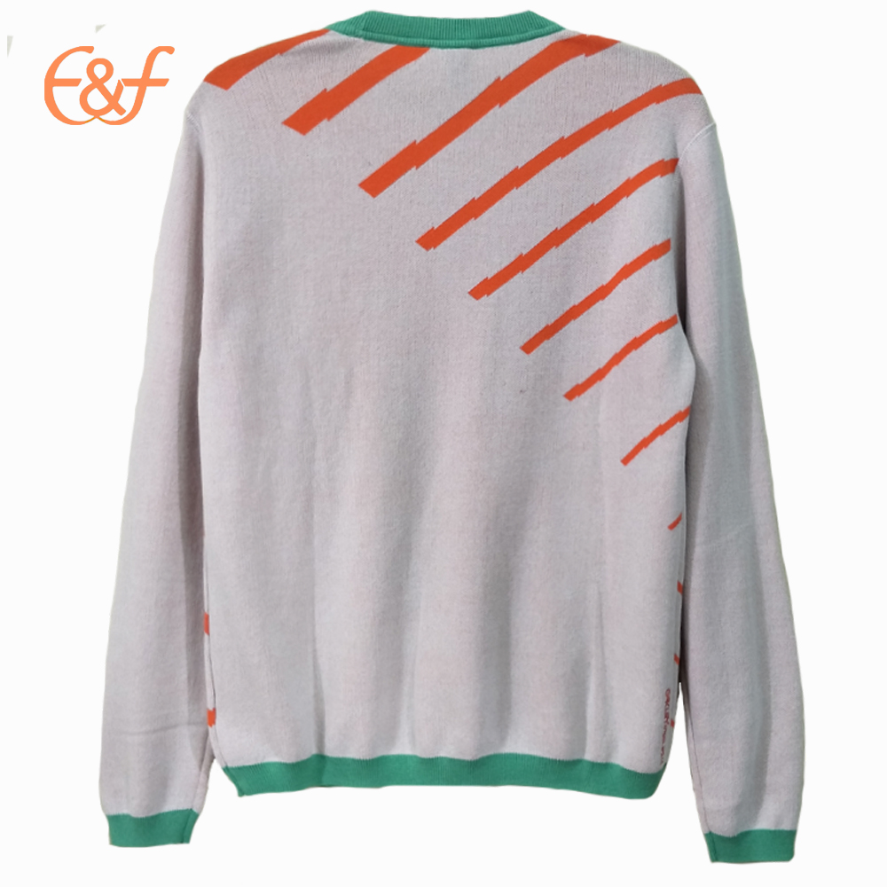 Fashion Design Light Color Fancy Sweater