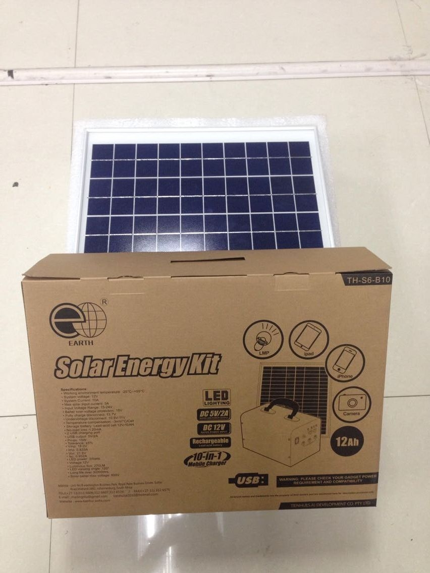 Solar Lighting Charger System