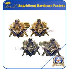 Benutzerdefinierte Verpackung Box Manschettenknöpfe Masonic Manschettenknöpfe