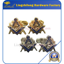 Custom Packing Box Cufflinks Masonic Cufflinks