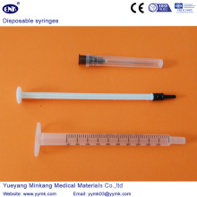 Seringue stérile jetable avec aiguille 1ml (ENK-DS-063)