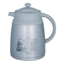 Vaso de café de vácuo de parede duplo estilo Europa Svp-1000CH cinza