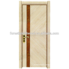 Home Decoration Wood Melamine Molded Interior Door