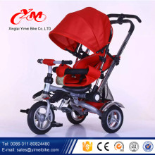 Lexus kids metal trike with three big wheel kid tricycle/custom Deluxe baby trike prices/red child toddler trikes uk