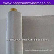 Korrosionsbeständiges 316 rostfreies Stahldrahtgeflecht, das benutzt wird, um Flüssigkeit und Gas zu screenen und zu filtern