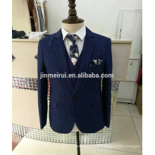 Free Shipping 2017 Blue Men Suits Long Sleeves Formal Dress Occasions Hot Sale