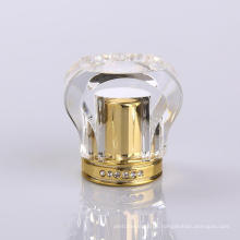 Handel versicherte Kristall Luxus Parfüm Flasche Cap