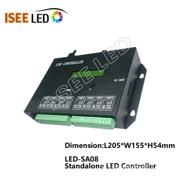 2 saídas RGB LED SD Card Controller