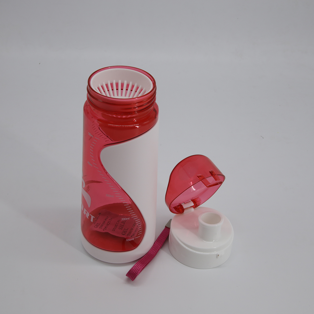 Plastic Sport Gym Bottle with Filter and lid
