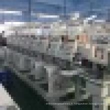 Chine conception populaire 10 têtes plat broderie machine cap t-shirt broderie machine