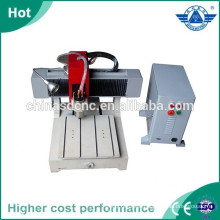 Desktop mini wood cnc router machine for letters carving,plate engraving
