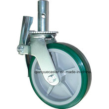 """Roulette d'échafaudage universelle 6 '' et 8 """"pour plate-forme mobile (roulette de roulette d'échafaudage)"""