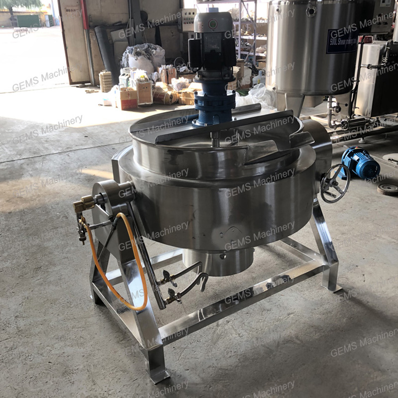 jacketed kettle cooker 4