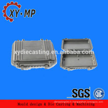 Electro polissage usinage cnc pièces moulées en aluminium pour communication