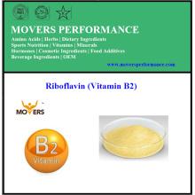 Riboflavine de qualité alimentaire de bas prix de qualité (vitamine B2)