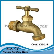 American Type Sand-Casting Brass Bibcock (V26-022)