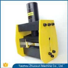 Herramientas de diseño moderno Máquina de procesamiento de cobre excavador de agujero hidráulico Fabricación de barras de distribución CNC