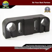 CNC Machining Electronic Element Case Aluminum Part with Black Anodized