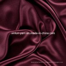 L'emballage rayé de doublure de boîtes-cadeau de Satin décorent le tissu de polyester