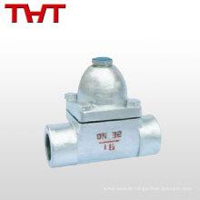 Válvula automática de redução de pressão de aço inoxidável válvulas de retenção de vapor / drenagem