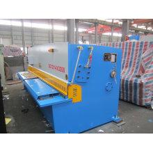 Máquina de corte hidráulica da placa de metal do feixe do balanço QC12y-4X2500