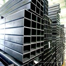 Tube rectangulaire en acier au carbone de haute qualité et à faible alliage