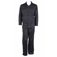 Hot sale for Cotton Work Suit Black Nomex Work Suit with Snaps Pockets supply to Swaziland Suppliers